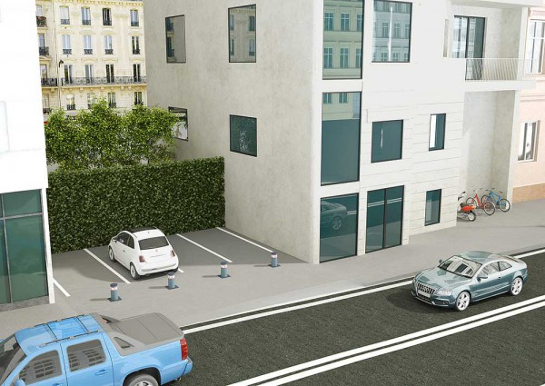 BFT contrôle d'accès de parkings