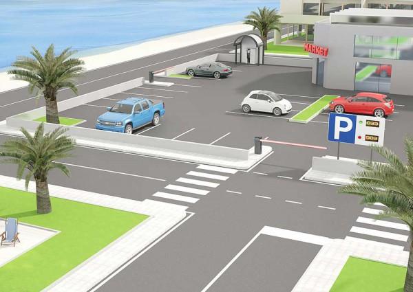 BFT motorisations automatismes parkings