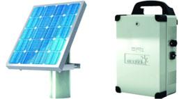 alimentation solaire garages
